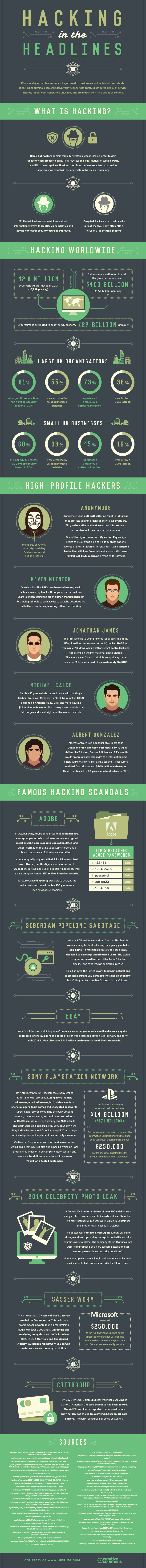 [INFOGRAPHIC] Hacking In The Headlines