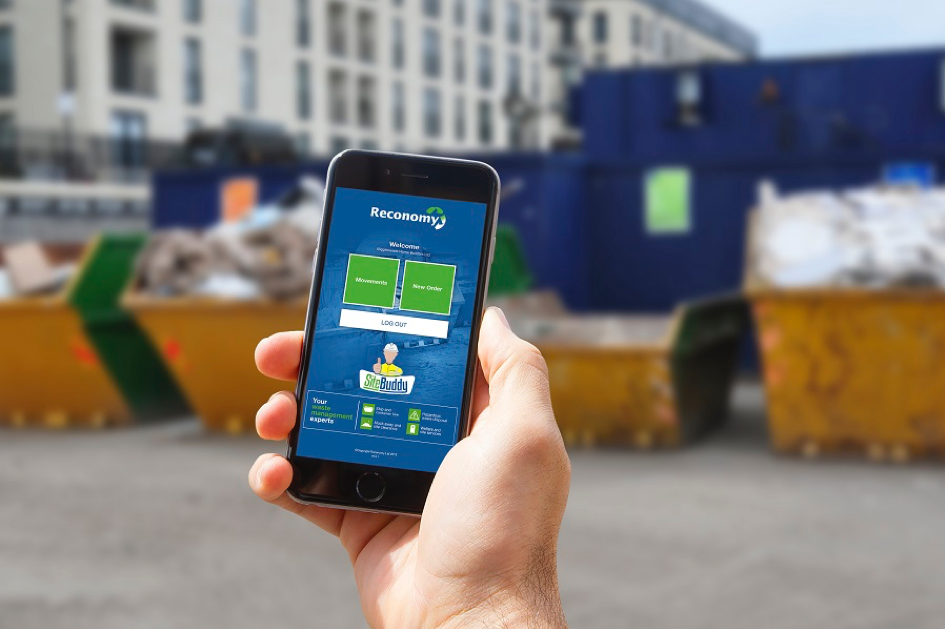 Reconomy launches 'industry-first' skip hire app